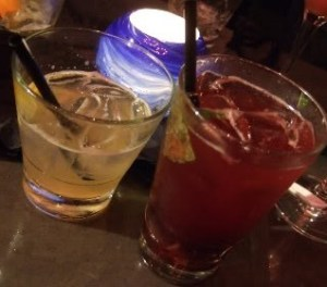 Society Dining Lounge: drinks