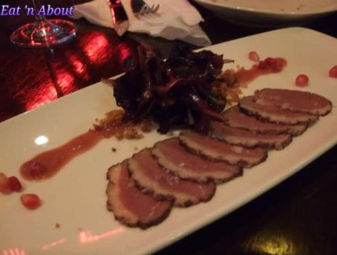 Regional Tasting Lounge: Oak Barrel House Smoked Magret Duck
