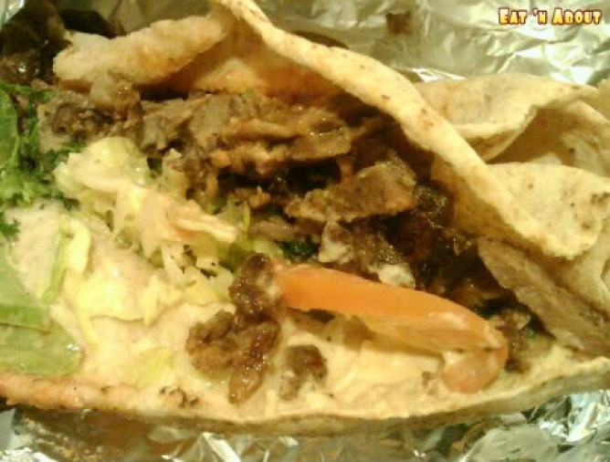 Babylon Cafe: Lamb Sharwarma