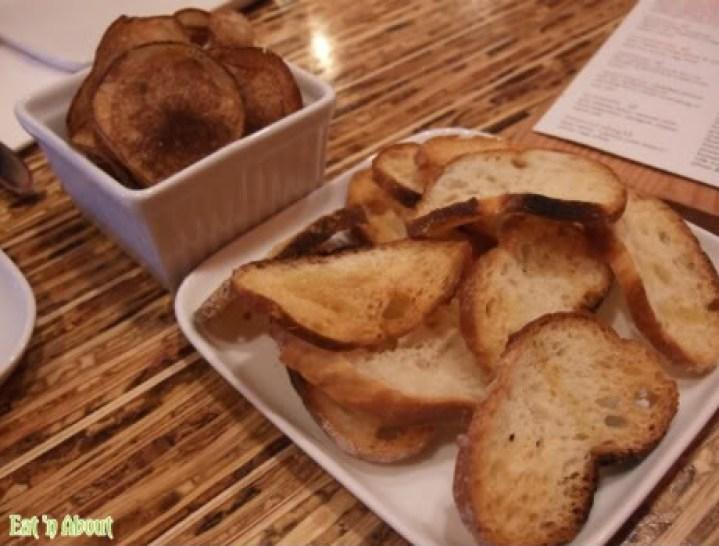 The Refinery: Homemade rosemary potato chips