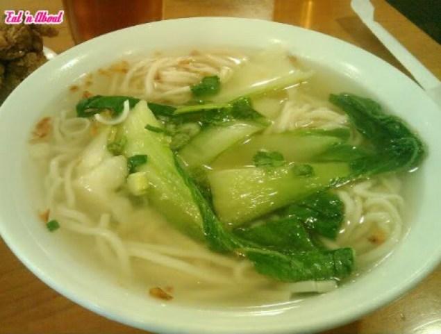 Sunshine Cafe: Noodles in Soup
