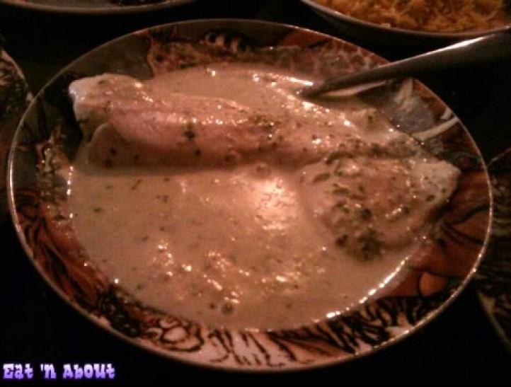 Simba's Grill on Denman: Tilapia Paka