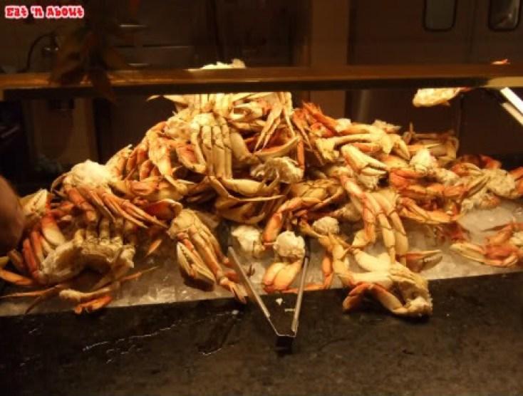 Falls Buffet: dungeness crab