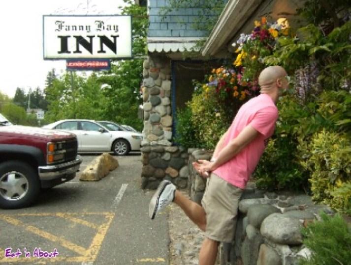 Fanny Bay Inn exterior