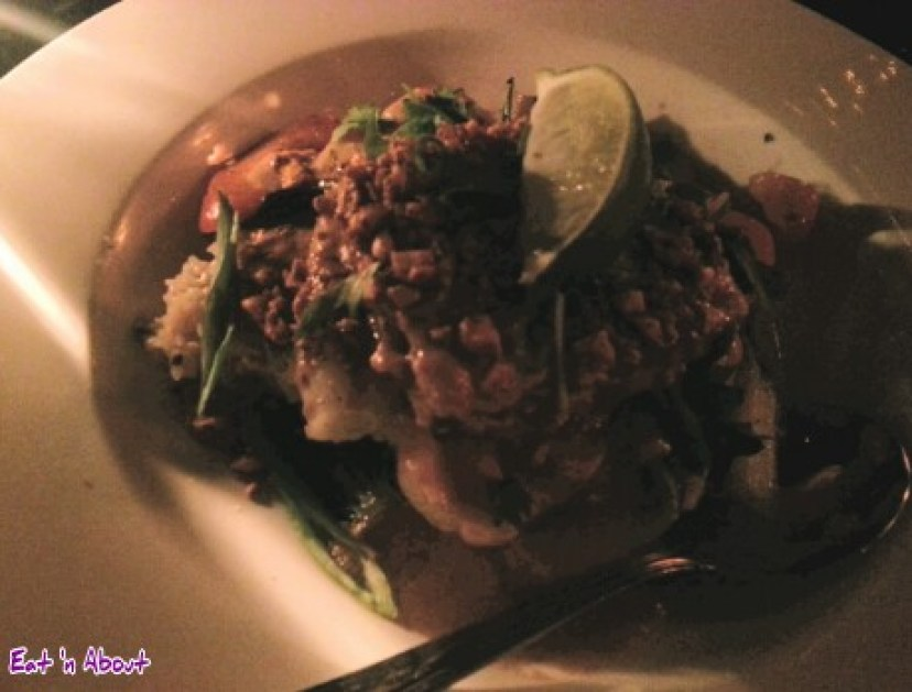 The Mint Dining Lounge in Victoria: Ginger Cilantro Sticky Rice