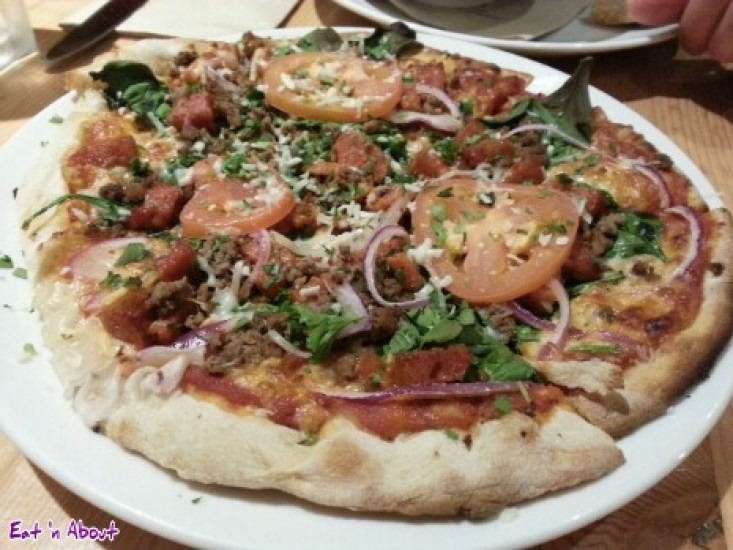 Rocky Mountain Flatbread Company: Naturally Meaty pizza