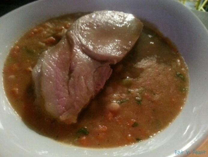 Judas Goat Taberna: Smoked Pork Loin and Beans