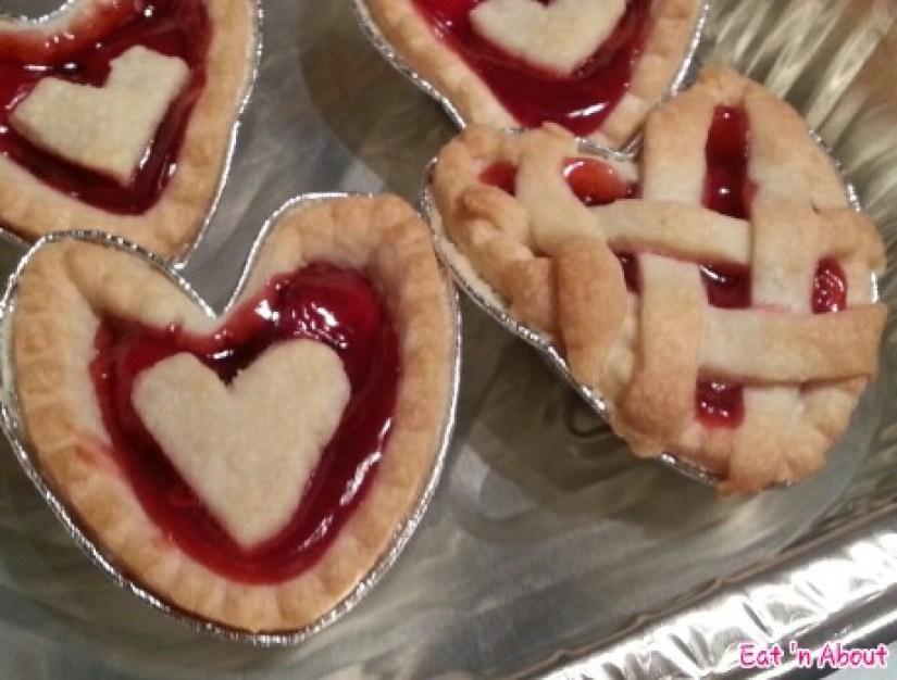 Home-cooking: Valentine's Cherry Tarts