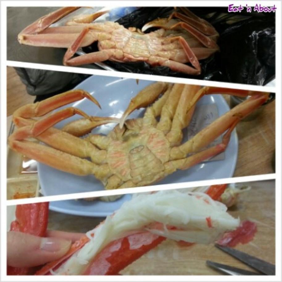 Noryangjin Fish Market in Seoul, Korea: Snow crab