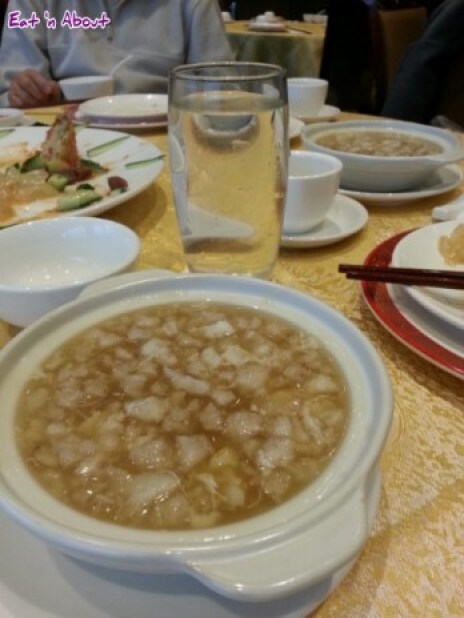 Victory Seafood (M's) Restaurant Richmond: Fish maw and crab soup