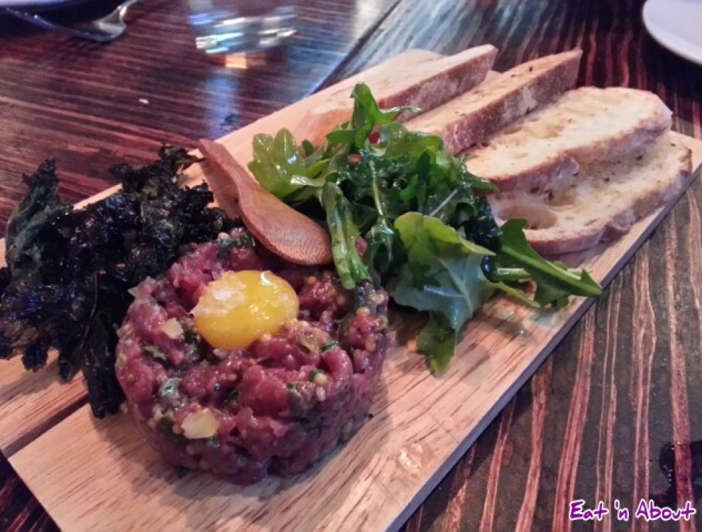Merchant's Oyster Bar: Bison Tartare