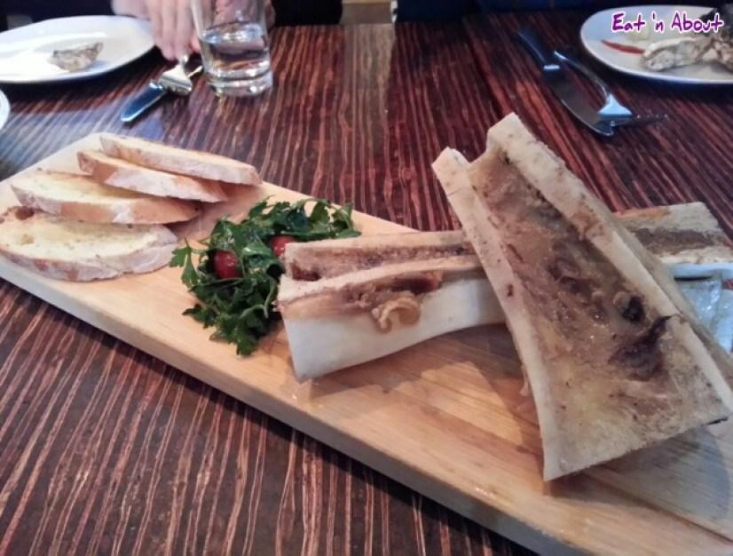 Merchant's Oyster Bar: Roast Bone Marrow