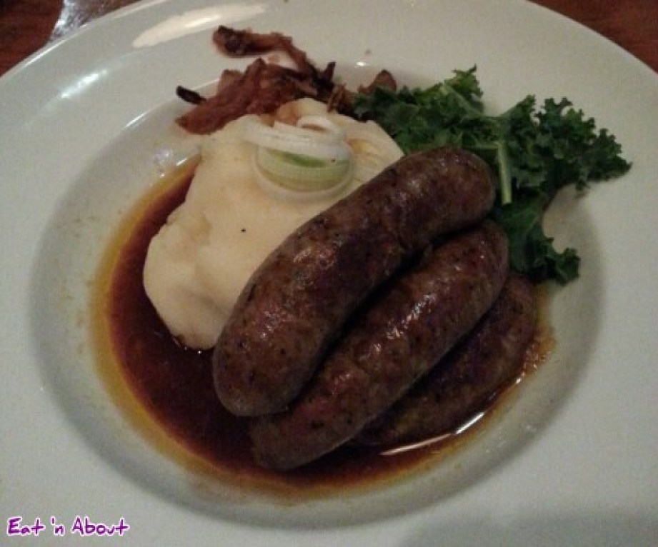Irish Heather: Bangers and Mash