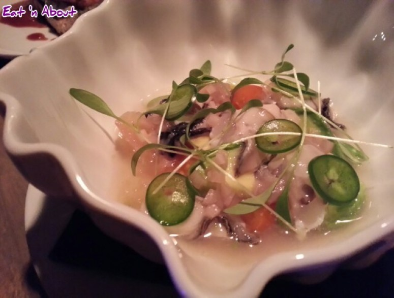 L'Abattoir: West Coast Oyster Ceviche
