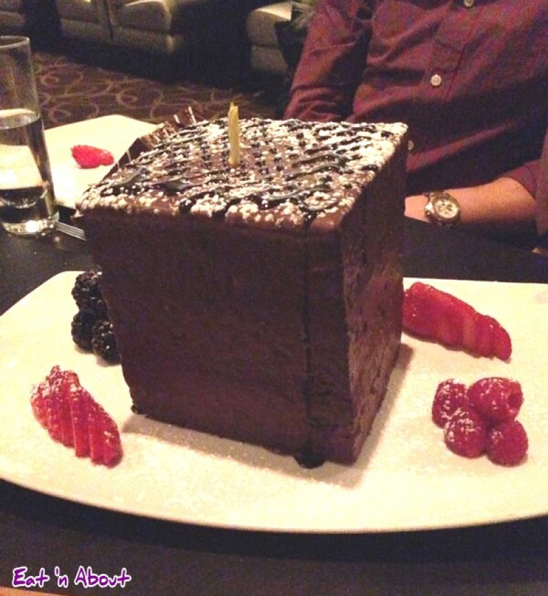 Mosaic Grille: Mosaic Whole Birthday Chocolate Cake