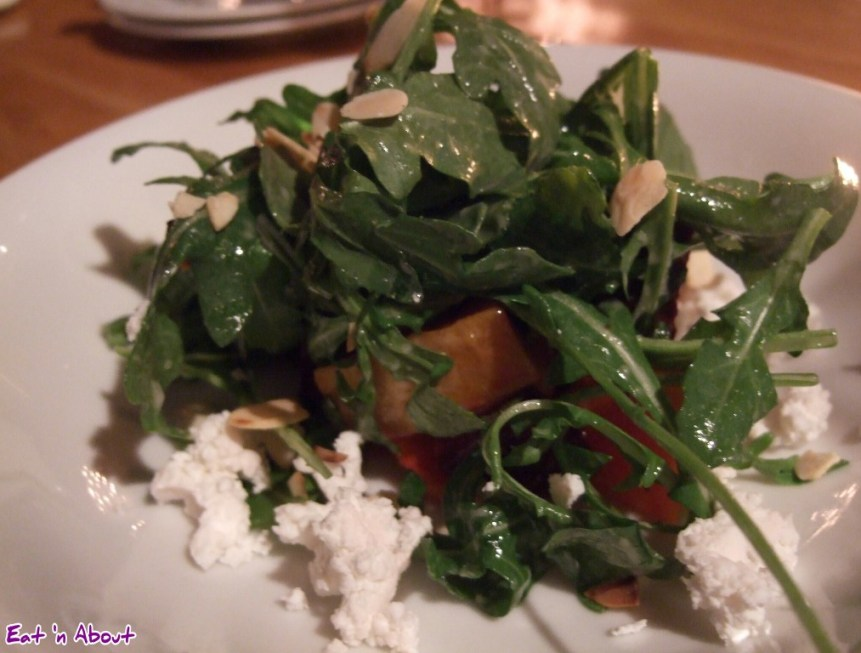 Siena Restaurant: Roasted Beet, Squash and Chèvre Salad