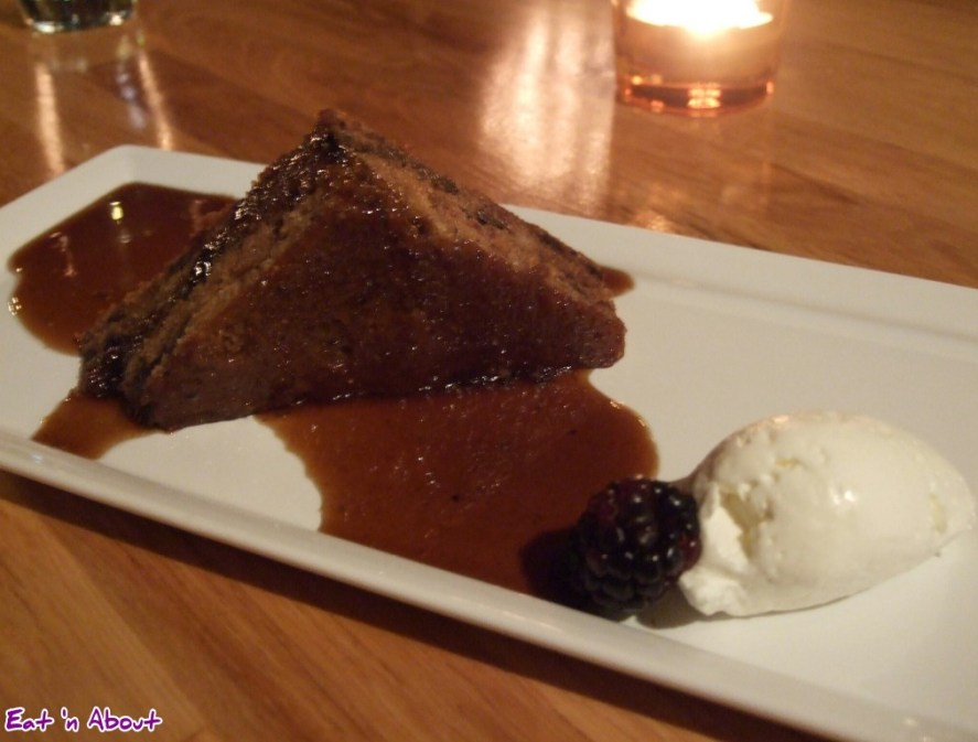 Siena Restaurant: Warm Spiced Fig Cake