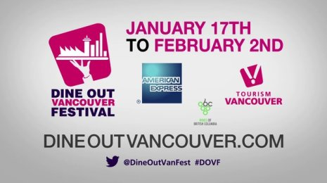 Dine Out Vancouver Festival 2014