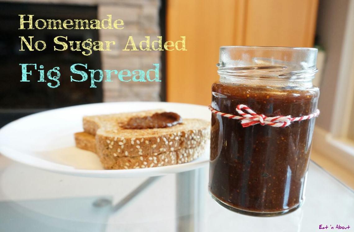 Fig Spread Recipe - Homemade No Sugar Added