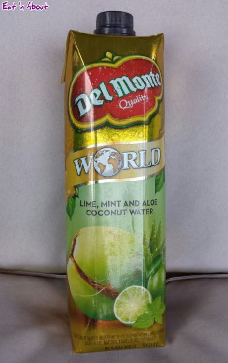 Top 10 Grocery Items 2014: Del Monte World Lime, Mint and Aloe Coconut Water