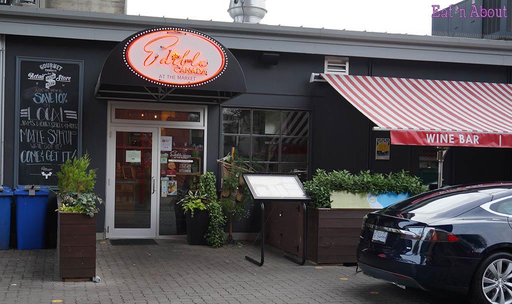 Edible Canada - Market Entrance