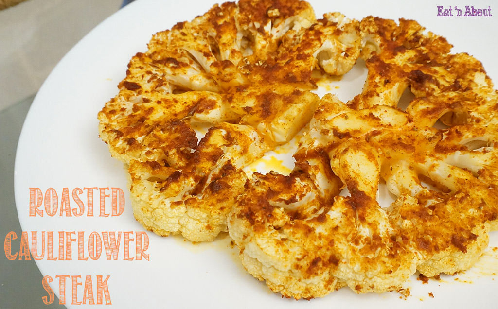 Roasted Cauliflower Steak Recipe