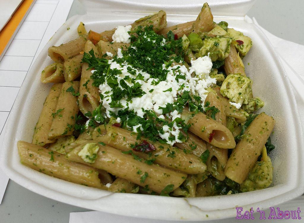 EAT! Vancouver 2014 - basil pasta bar Mediterranean Penne