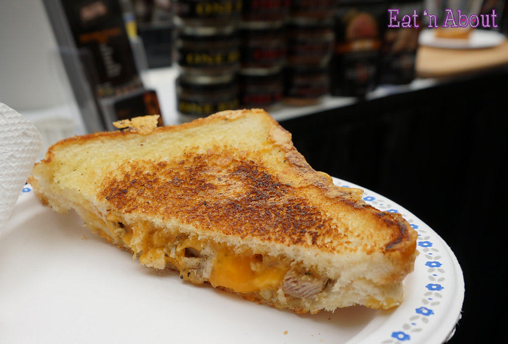 EAT! Vancouver 2014 - Fire in the Kitchen Grilled Cheese