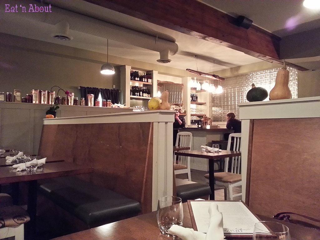 Graze Restaurant - interior