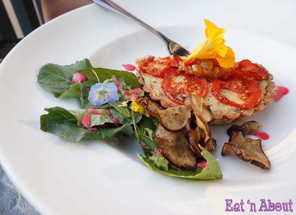 Graze Restaurant - seasonal vegetables