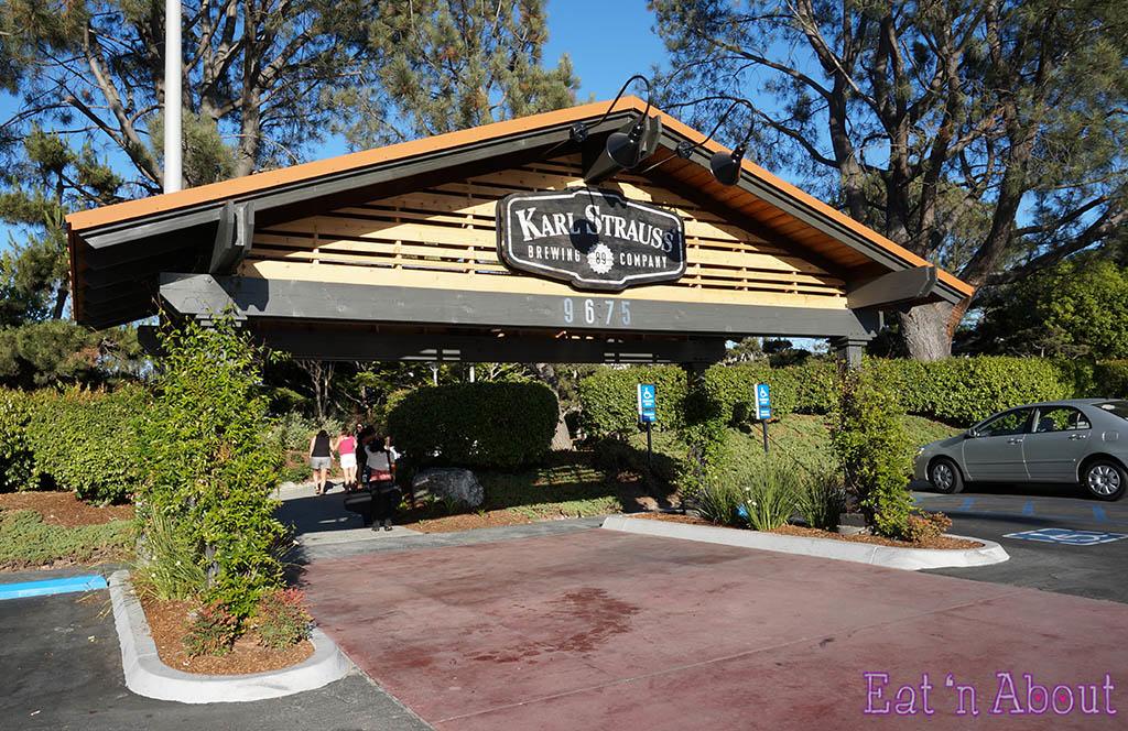 Karl Strauss Brewery & Gardens - exterior