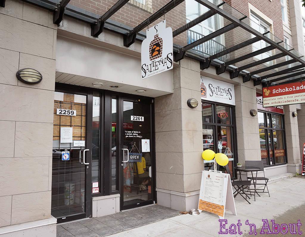 Saltenas Cafe and Pastries - exterior