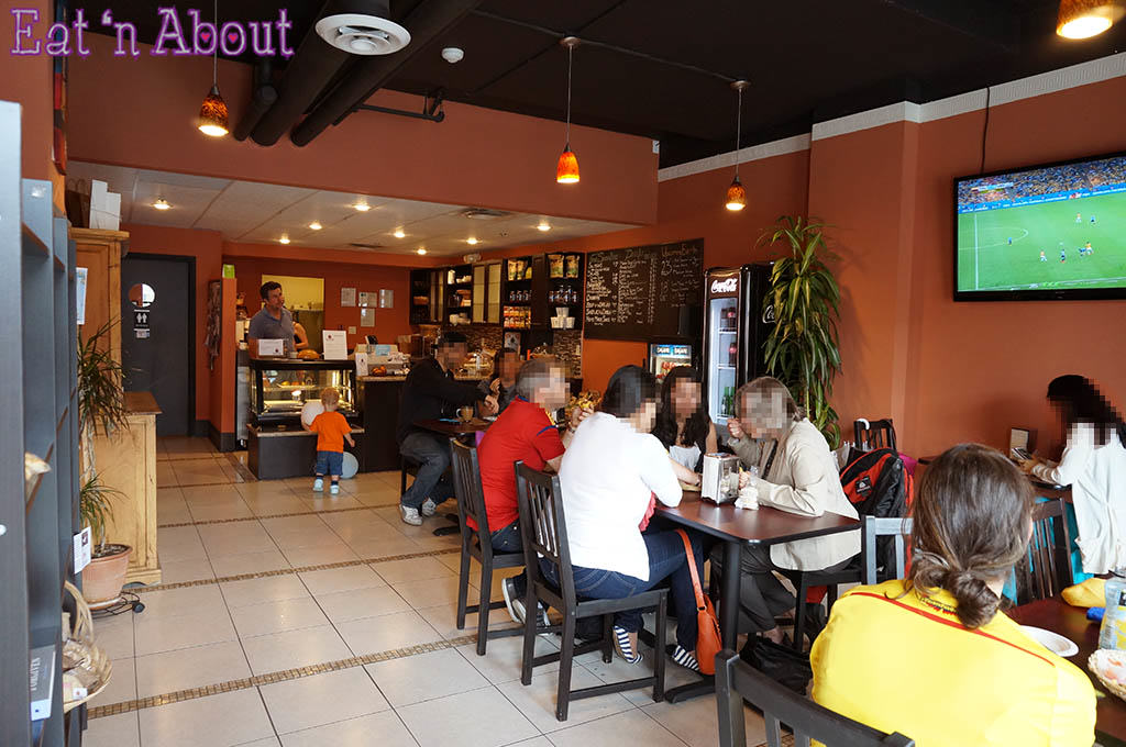 Saltenas Cafe and Pastries - interior