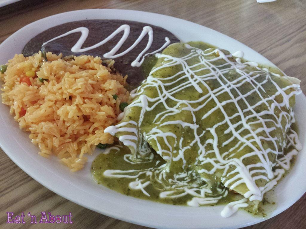 Taqueria Playa Tropical - Enchiladas Verdes