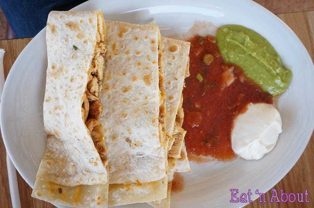 Habanero's Mexican Grill - Chicken Quesadilla