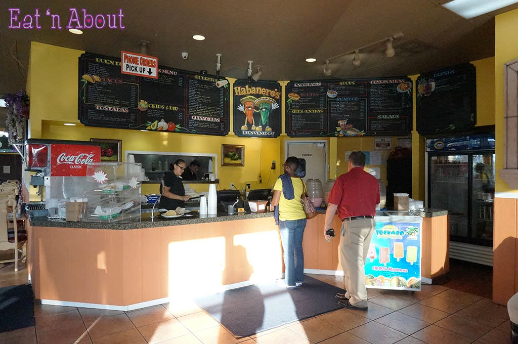 Habanero's Mexican Grill - Ordering area