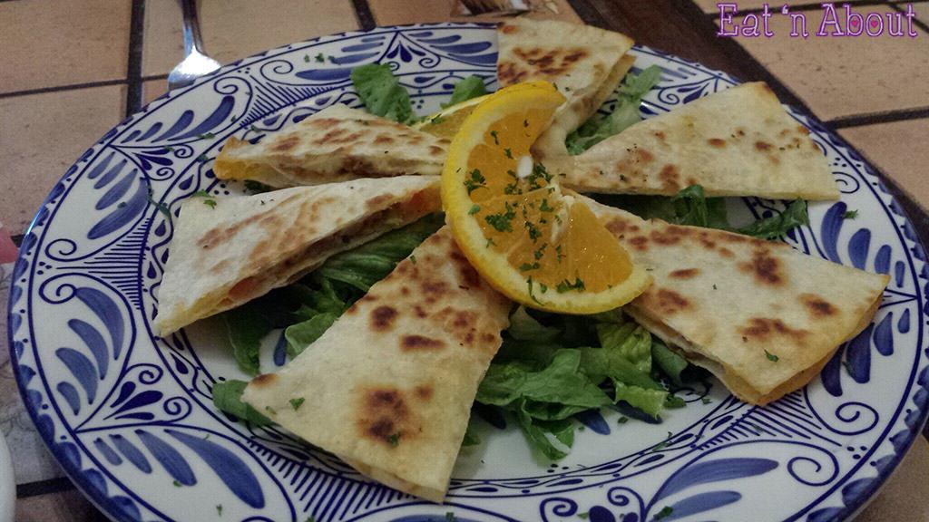 Poncho's Mexican Restaurant - Quesadillas