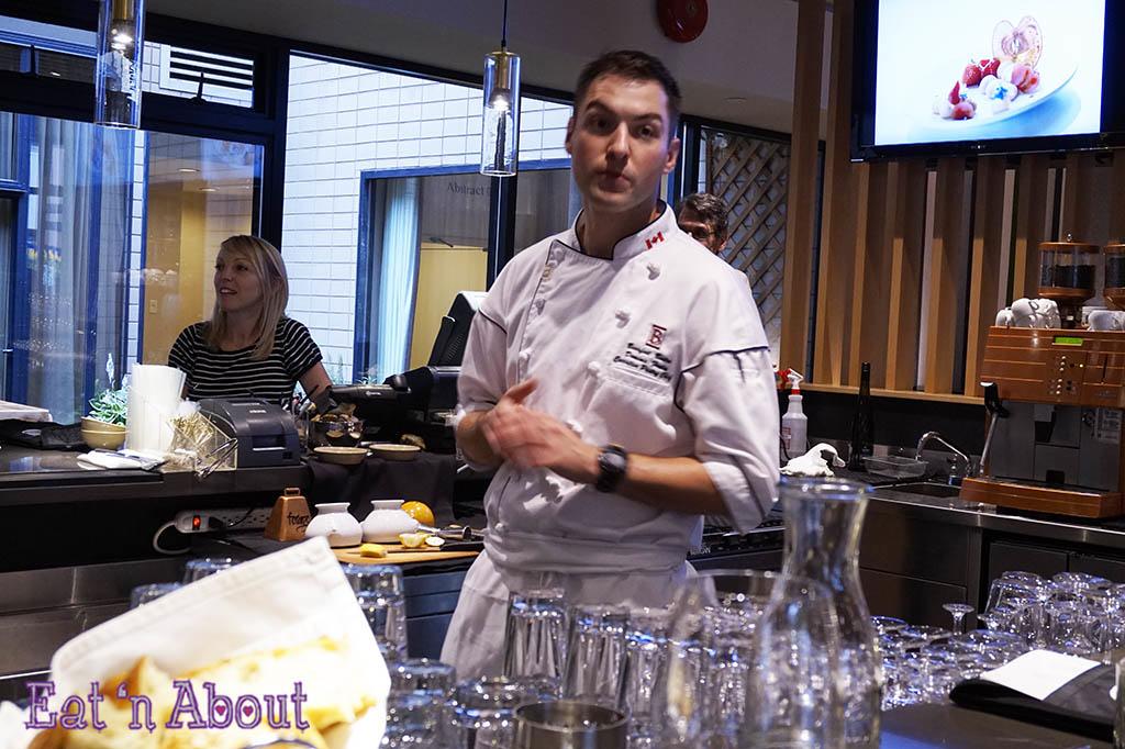 Chef Dominic Fortin