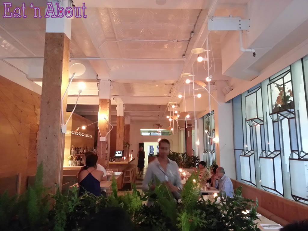 The Blacktail Florist - interior