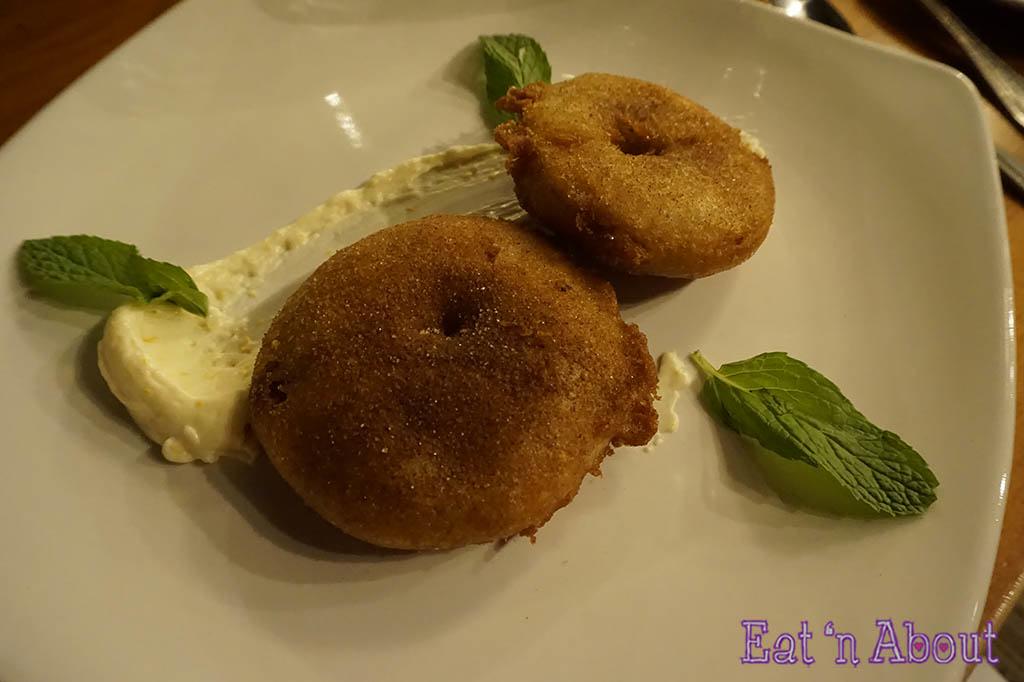 Shaughnessy Restaurant - Apple Beignets