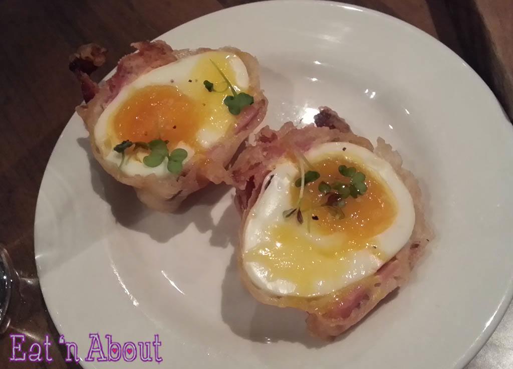 Tuc Craft Kitchen - Crispy Bacon Eggs