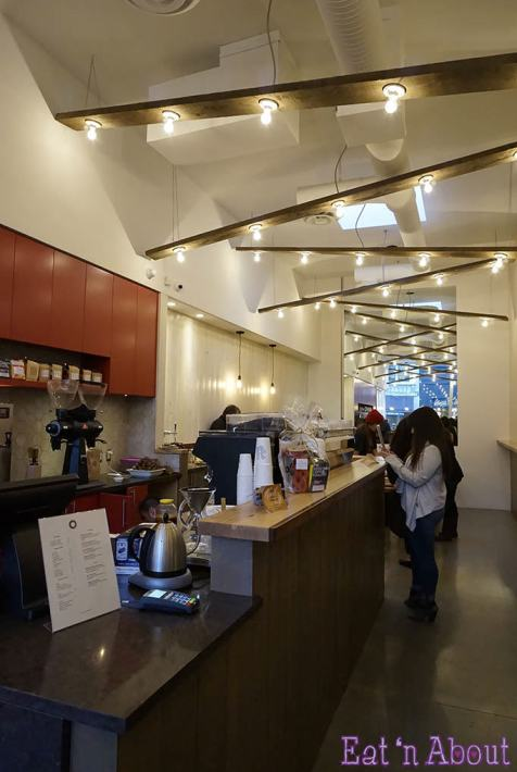 Bump N Grind cafe - interior