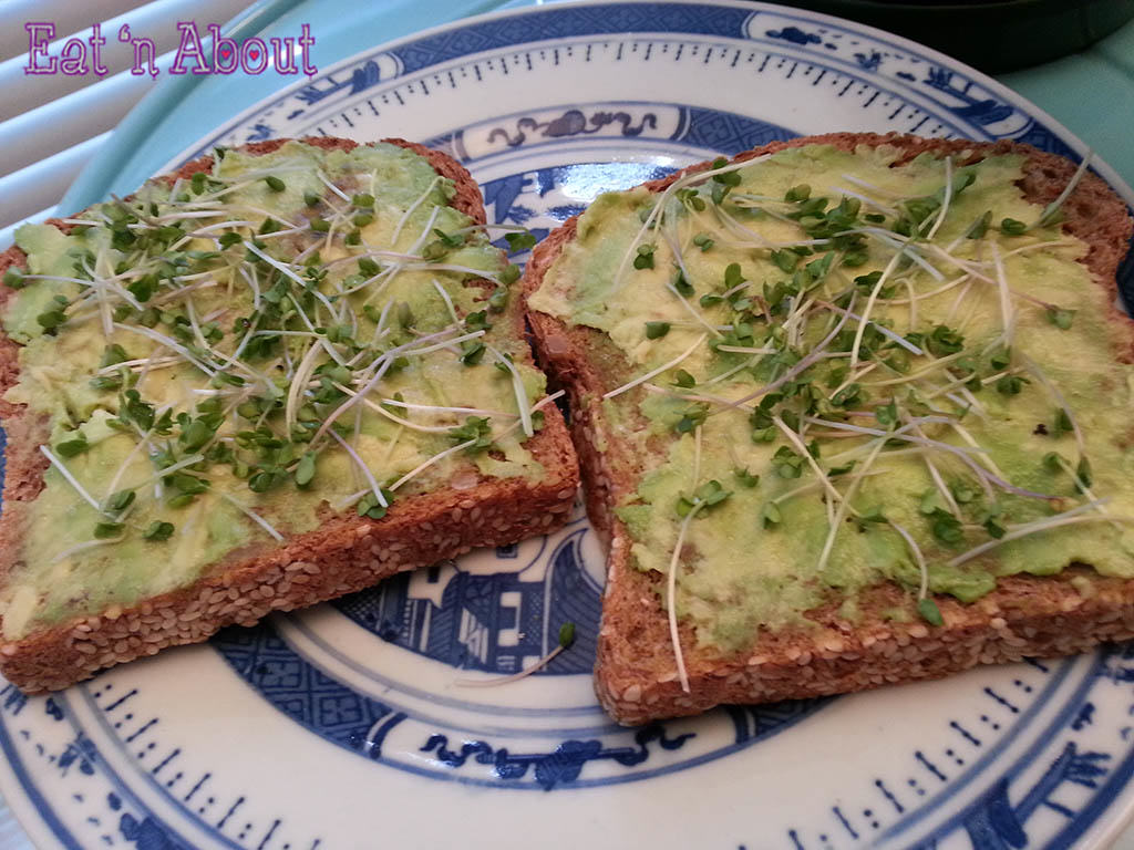sprouts on toast