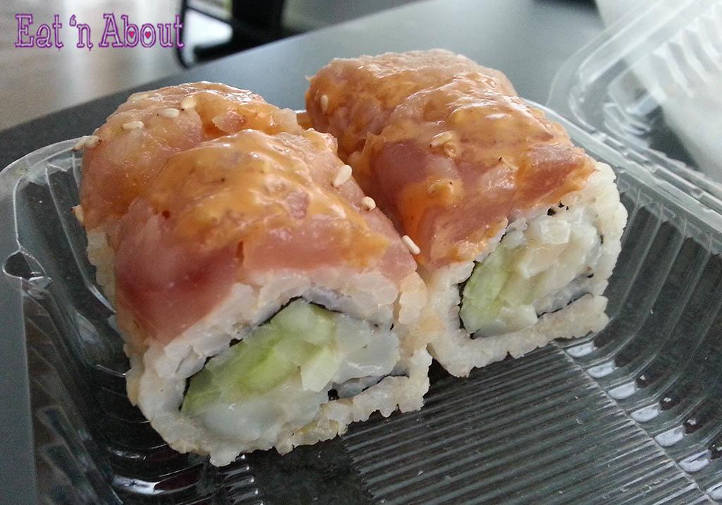 Aqua Sushi + Juice Bar - Red Roof Roll