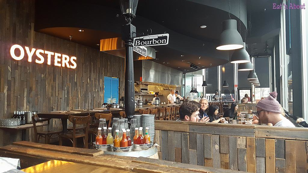 Chewies Steam & Oyster Bar Coal Harbour