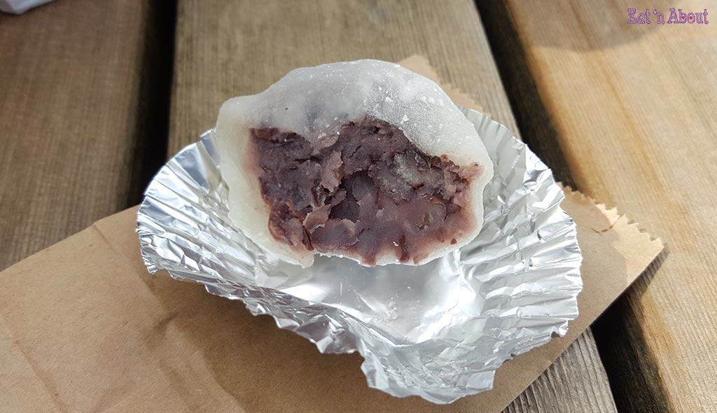 Cake'Ya Daifuku red bean filling