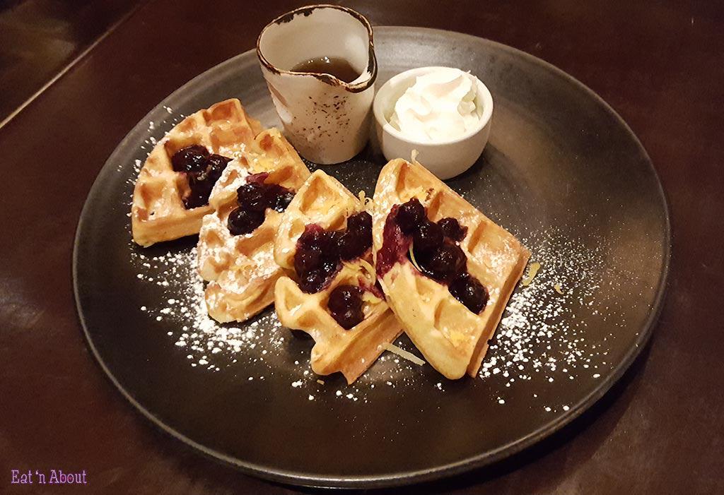 EBO Restaurant - Belgian Waffles