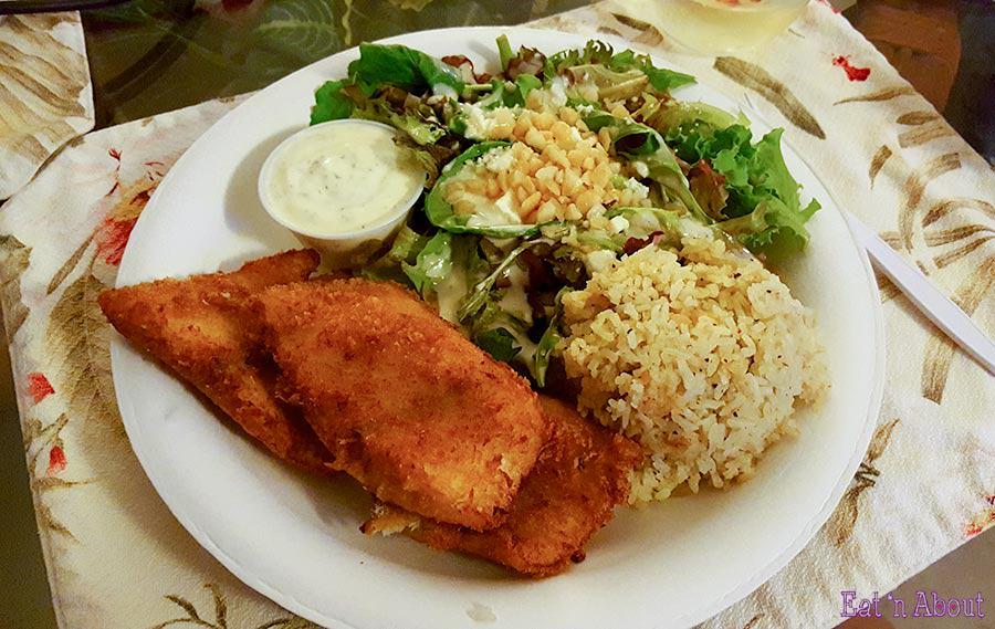 Kinaole Grill Food Truck - Mahi Mahi Plate