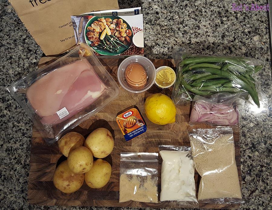 Fresh Prep Vancouver - Chicken Milanese ingredients
