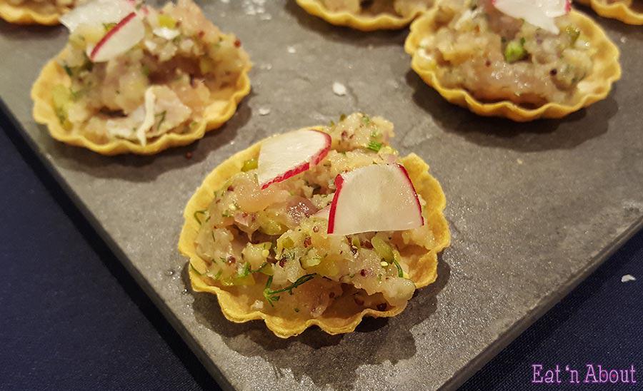 EAT! Harvest - Cured Tuna Tarte
